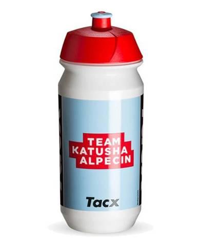 Športová fľaša Nutrend Tacx Bidon 2019 500 ml biela so svetlo modrou potlačou