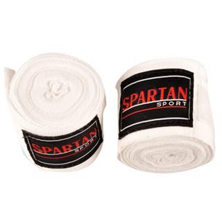 Boxerské bandáže Spartan 380 cm biela