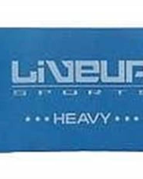 LiveUp Aerobic guma LiveUp 5 cm - Tmavě modrá
