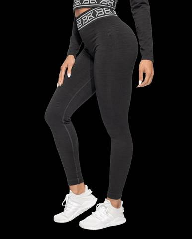 Better Bodies Rib Seamless Black Melange  XS