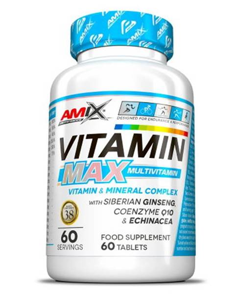 Amix Nutrition Amix Vitamin Max Multivitamin 60 tabliet
