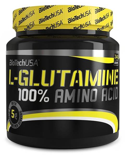 Biotech USA Biotech 100 % L-Glutamine 240 g