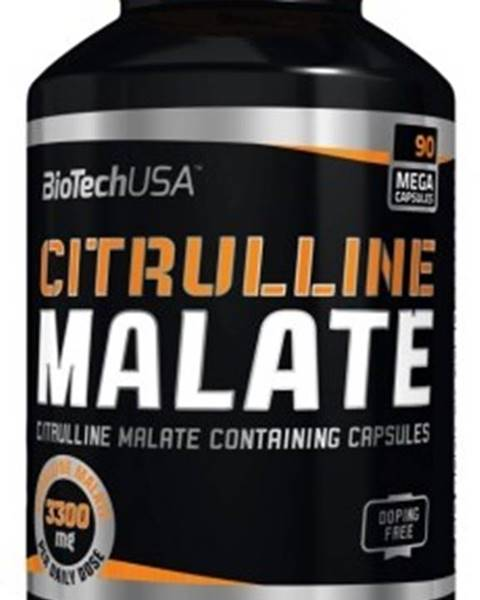 Biotech USA Biotech Citrulline Malate 90 kapsúl