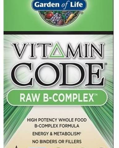 Garden Of Life Vitamín B Komplex - Raw 60 kapsúl