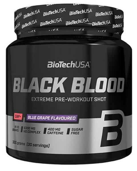 Biotech USA BioTech USA BioTech Black Blood Caf+ 300 g variant: čučoriedka
