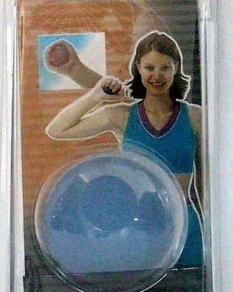 Sedco Posilovač dlaní - míček - Modrá