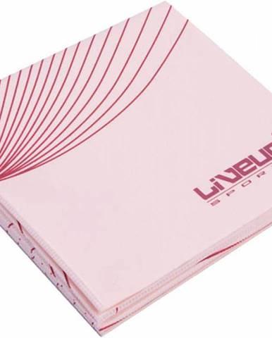 Karimatka YOGA LiveUp 173x61x0,2 cm - Růžová