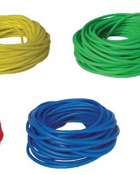LivePro BAND TUBING - Odporová posilovací guma - LATEX FREE - 7,5m - Zelená