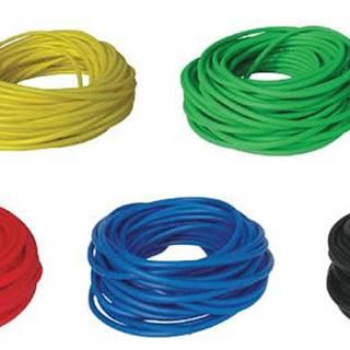 BAND TUBING - Odporová posilovací guma - LATEX FREE -7,5 m - Žlutá