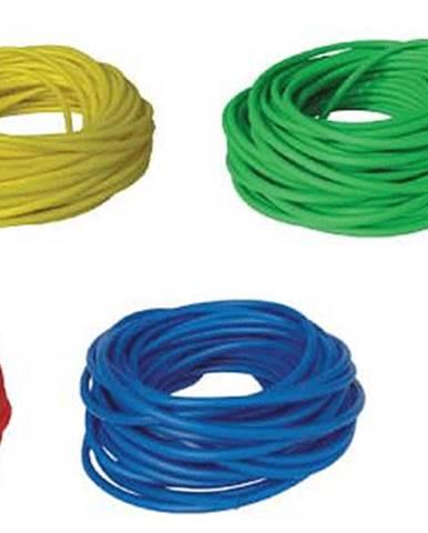 BAND TUBING - Odporová posilovací guma - LATEX FREE - 30 m TL.2 ZELENÁ - Žlutá - Velmi snadná