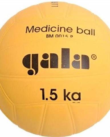 Míč medicinbal Gala plastový 1,5 kg