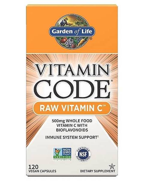 Garden of life Garden of Life Vitamín C - RAW 120 kapslí