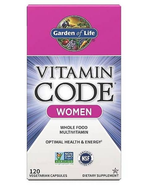Garden of life Garden of Life Vitamin Code RAW multivitamin pro ženy 120 kapslí