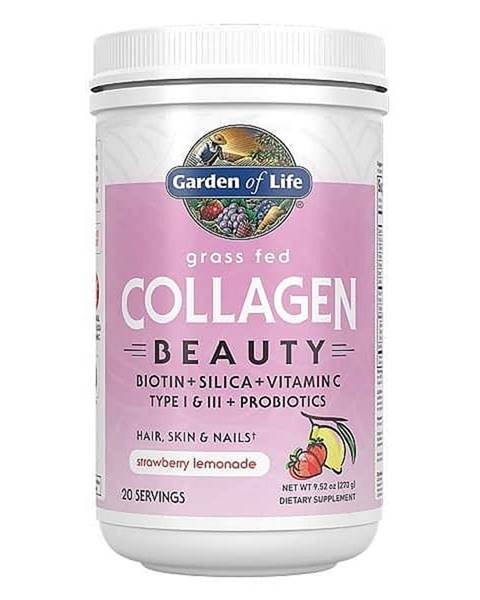 Garden of life Garden of Life Collagen Beauty - jahoda a citrón - Kolagen 270g.