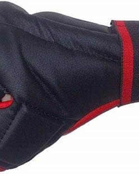 Effea Rukavice Kung-fu PU597 EFFEA velikost L, M, S, XL červeno/černé - S