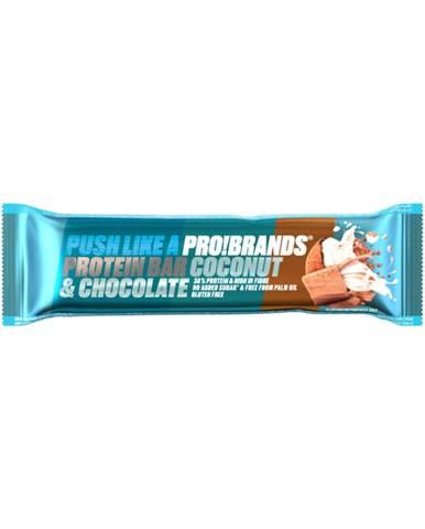 PRO!BRANDS Protein Bar 45 g jahodový jogurt