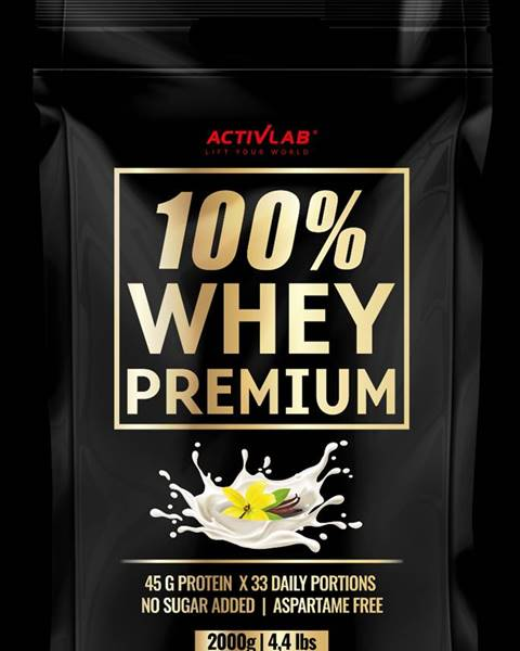 ActivLab ActivLab 100% Whey Premium 2000 g vanilka