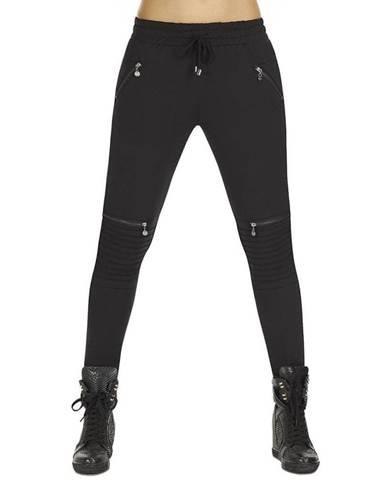Dámske nohavice BAS BLEU Izzy Black čierna - S