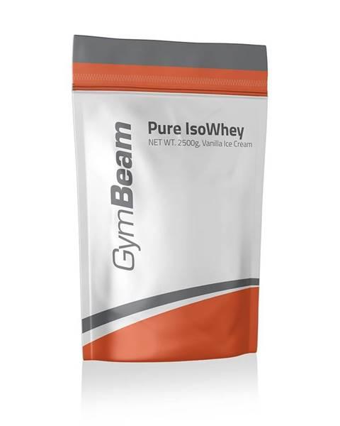 GymBeam GymBeam Pure IsoWhey 2500 g vanilková zmrzlina