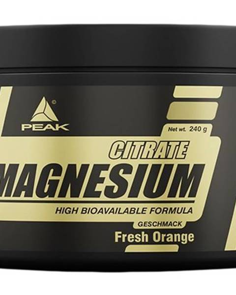 Peak Performance Magnesium Citrate - Peak Performance 240 g Berry Mix