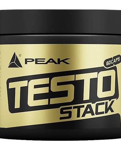 Testo Stack - Peak Performance 60 kaps.