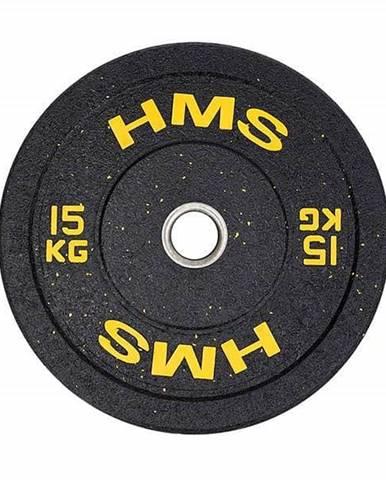 Olympijský bumper kotouč HMS HTBR 15 kg