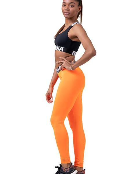 Nebbia Nebbia Squad Hero Scrunch Butt legíny 528 oranžové variant: L