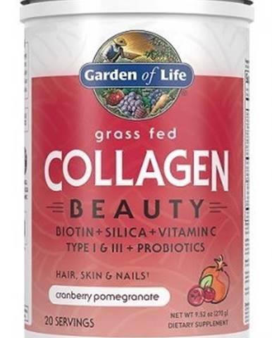 Garden of Life Collagen Beauty 270 g variant: brusnica - granátové jablko