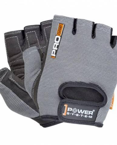 Power System Rukavice Pro Grip sivé variant: L