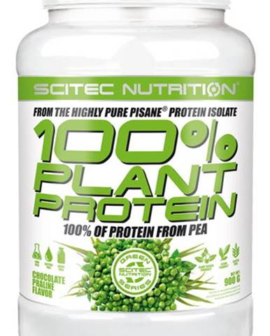 Scitec Nutrition Scitec 100% Plant Protein 900 g variant: čokoláda - pralinka