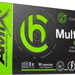 Amix Nutrition Amix ChelaZone MultiChel Ca + Mg + Zn 90 kapsúl