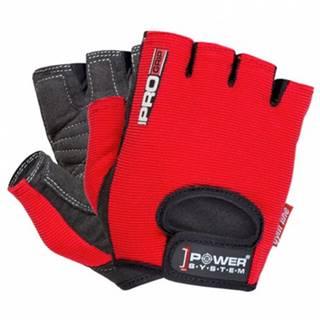 Power System Rukavice Pro Grip červené variant: L