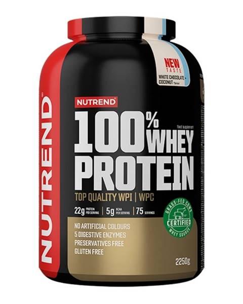 Nutrend Nutrend 100% Whey Protein 2250 g čokoláda kakao