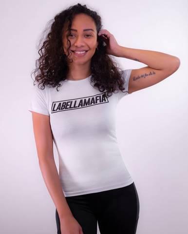 LABELLAMAFIA Dámske tričko Mesh White  S