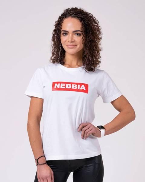 Nebbia NEBBIA Dámske Tričko Basic White  XS