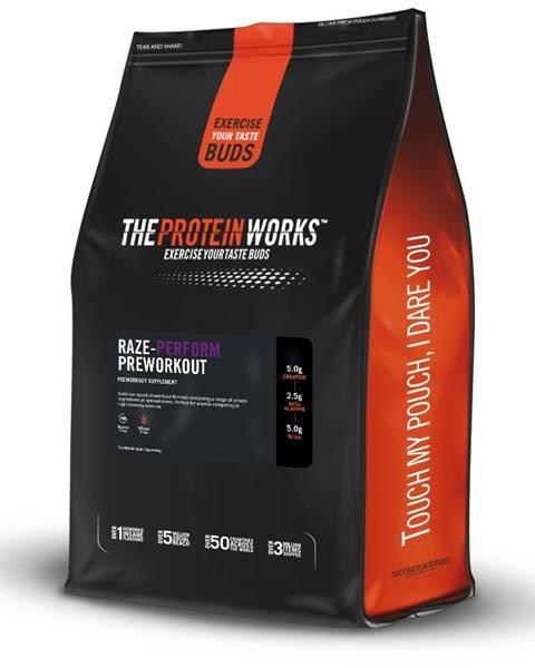 The Protein Works TPW Raze-Perform™ Preworkout 250 g blue raspberry juice