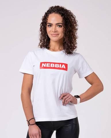 NEBBIA Dámske Tričko Basic White  XS