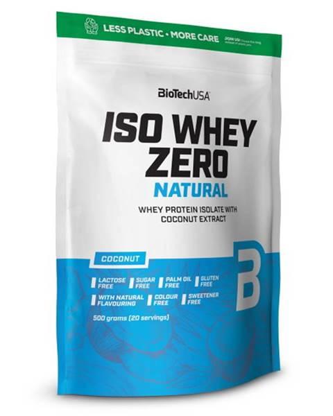 Biotech USA BioTech USA BioTech Iso Whey Zero Natural 500 g variant: kokos