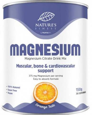 Nutrisslim Magnesium Citrate (Citrát horečnatý) 150 g variant: pomaranč