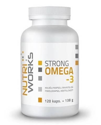 Nutriworks Strong Omega 3 120 kapsúl