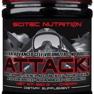 Scitec Nutrition Scitec Attack! 320 g variant: hruška