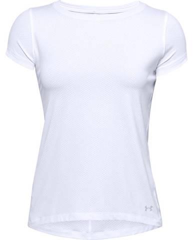 Dámske tričko Under Armour HG Armour SS White - M