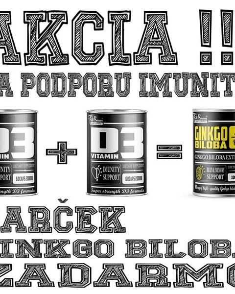 FitBoom 2+1 Zadarmo: Vitamín D3 + Ginkgo Biloba Zadarmo - FitBoom 60 kaps. + 60 kaps. + 100 tbl.