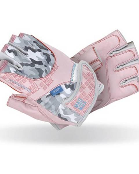 Mad Max Dámske fitness rukavice  Mad Max No Matter ružová - L