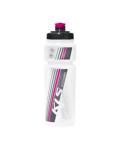 Cyklo fľaša Kellys Namib transparent pink