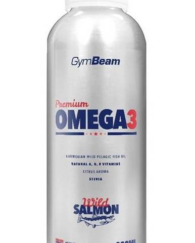Premium Omega 3 - GymBeam 250 ml. Citrus