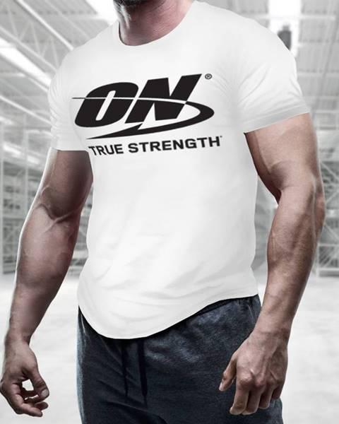 Optimum Nutrition Optimum Nutrition Men´s T-shirt True Strength White  M