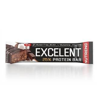 Nutrend Excelent Protein Bar 85 g čokoládový nugát & brusnice