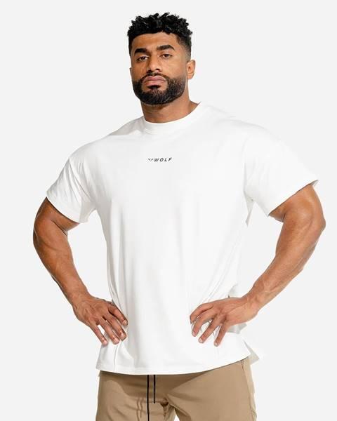 Squat Wolf Squat Wolf Tričko Bodybuilding White  S