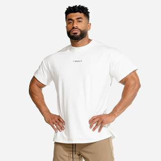 Squat Wolf Tričko Bodybuilding White  S